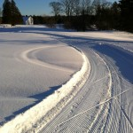 Groomed trails at Pettengill Farm